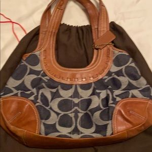 Coach Demi & brown purse - used condition